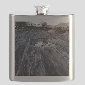 2-Pemaquid Print Flask