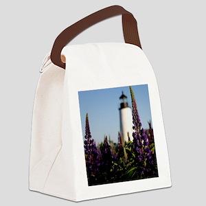 Pemaquid keepsake Canvas Lunch Bag