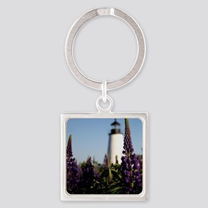 Pemaquid keepsake Square Keychain