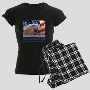 Veteran Blank Check Women's Dark Pajamas