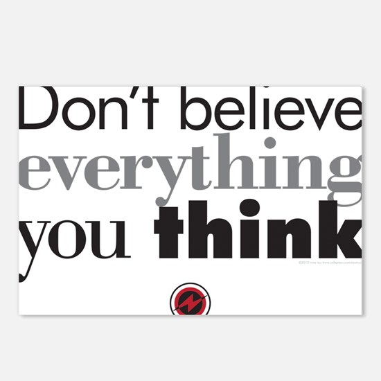 dont believe everthing yo Postcards (Package of 8)