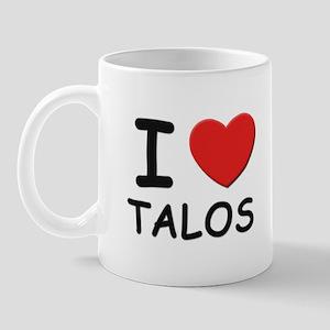 I love talos Mug