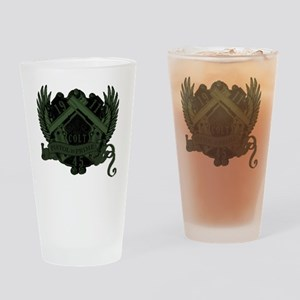 Pistol is Prime Shirt v2_mixdown2 Drinking Glass