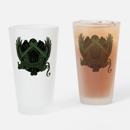 Pistol is Prime Shirt v2_mixdown2 Drinking Glass