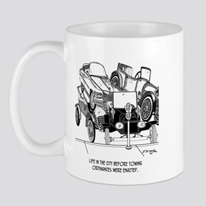 Life Before Towing Ordinances Mug