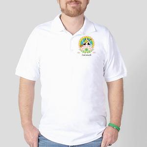 SaraSwati-01 Golf Shirt