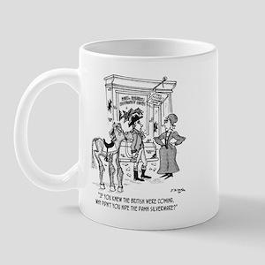 Paul Revere Should Have Hid Silverware Mug
