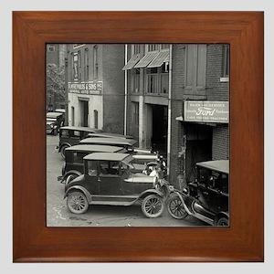 Ford Sales and Service Framed Tile