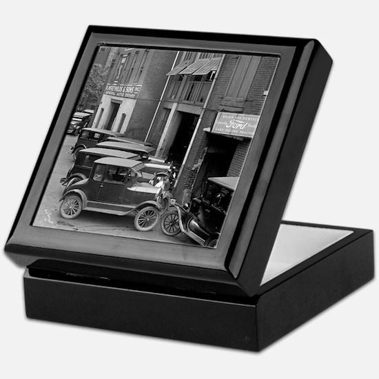 Ford Sales and Service Keepsake Box