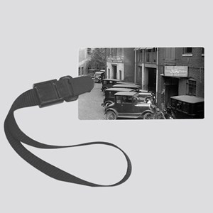 Ford Sales and Service Large Luggage Tag