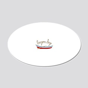 CAFE059CanyonDoryLTS 20x12 Oval Wall Decal
