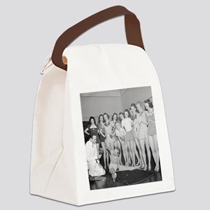 Dancing Class Canvas Lunch Bag