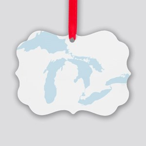 Great_Lakes_Lgt_Blu_15.35_x_15.35 Picture Ornament