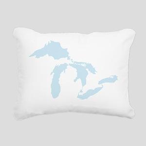 Great_Lakes_Lgt_Blu_15.3 Rectangular Canvas Pillow