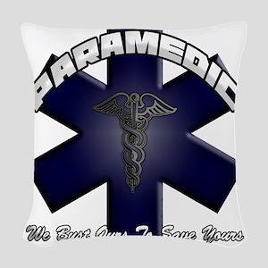 paramedic Woven Throw Pillow