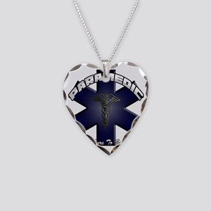 paramedic Necklace Heart Charm