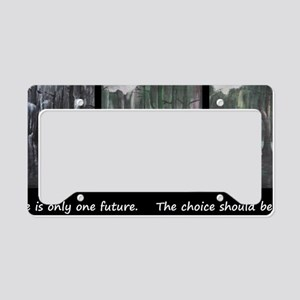 one future License Plate Holder