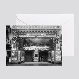 The Leader Theater Greeting Card
