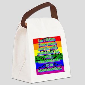 Le18-22 Canvas Lunch Bag