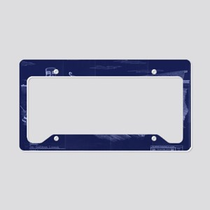 Tikigardens16x14t1 License Plate Holder
