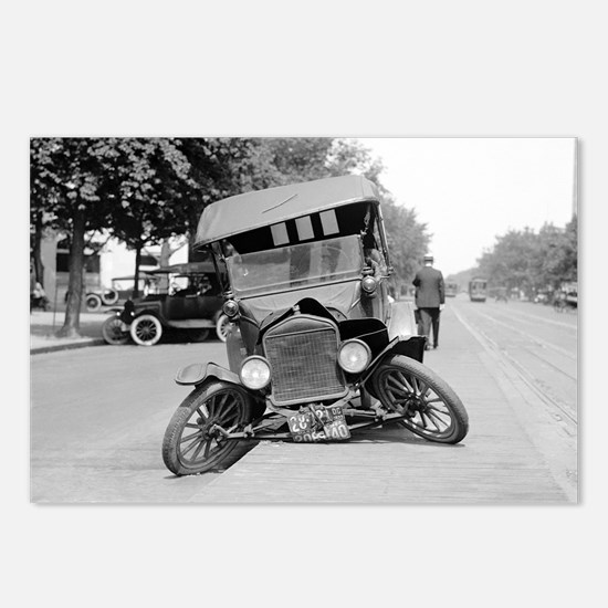 Crashed Ford Model T Postcards (Package of 8)