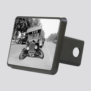 Crashed Ford Model T Rectangular Hitch Cover