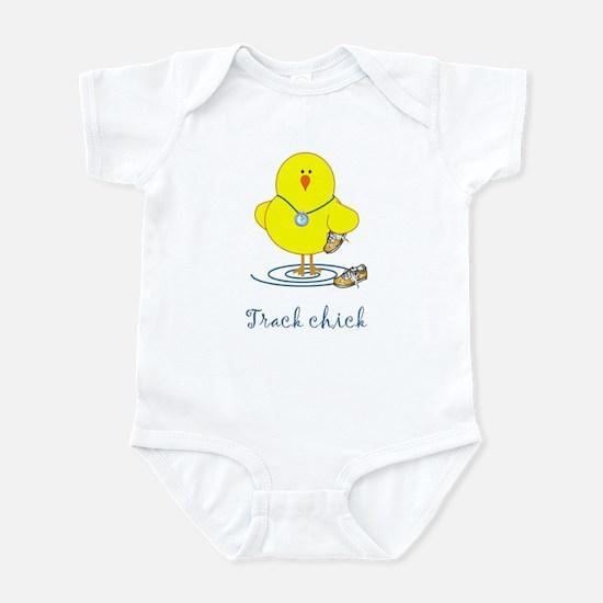 Track Chicks Infant Bodysuit