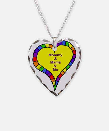 mom and mama and me Necklace