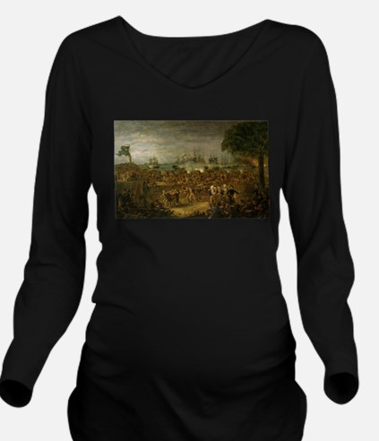 fort moultrie Long Sleeve Maternity T-Shirt