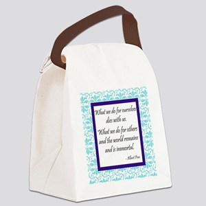 Immortal Canvas Lunch Bag