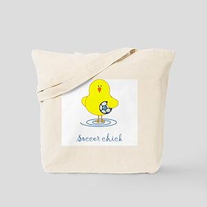 Soccer Chicks Tote Bag