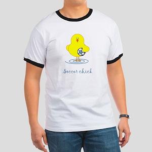 Soccer Chicks Ringer T