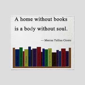 books Throw Blanket
