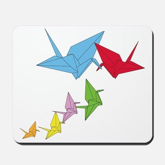 Origami Family Mousepad