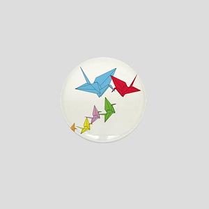 Origami Family Mini Button