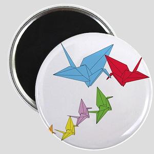 Origami Family Magnet