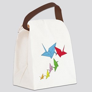 Origami Family Canvas Lunch Bag