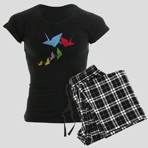 Origami Family Women's Dark Pajamas