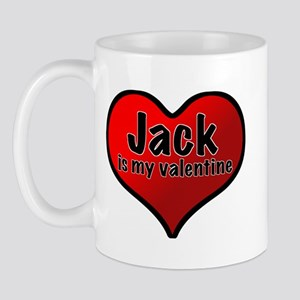 Jack is my Valentine Mug