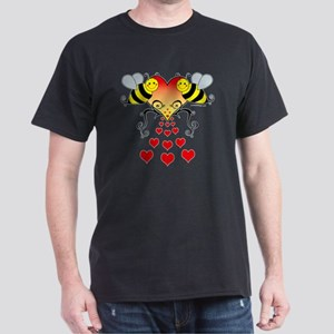 BeesHeartsDARK Dark T-Shirt