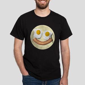bacon face2 Dark T-Shirt