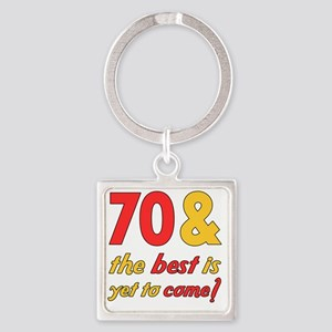 best70 Square Keychain