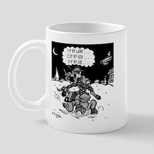 Paul Revere: Three if By Air? Mug