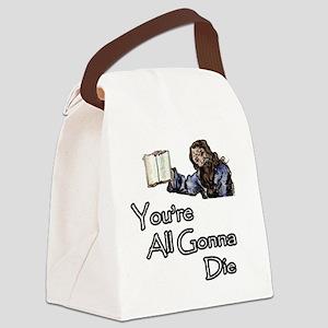 Nostradamus Canvas Lunch Bag