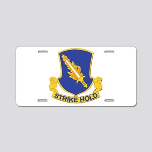 DUI - 1st Brigade Combat Team Aluminum License Pla