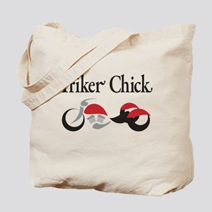 Triker Chick, Trike Tote Bag