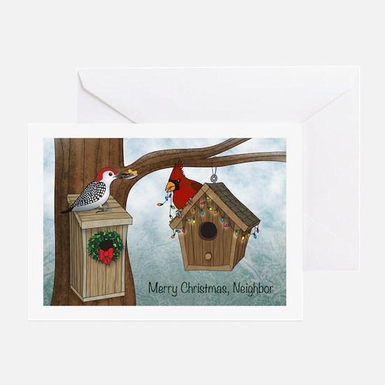 Merry Xmas Neighbor Card Greeting Cards