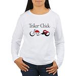 Triker Chick, Trike Long Sleeve T-Shirt