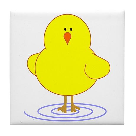 Chick Tile Coaster