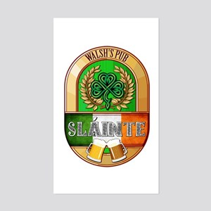 Walsh's Irish Pub Sticker (Rectangle)